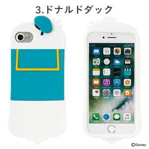 [iPhone8/7/6s/6専用]ディズニーキャラクター/シリコンケース