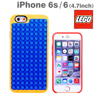 [iPhone6s/6专用]Belkin Lego情况(蓝色/黄色)