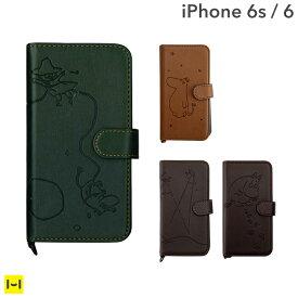 アイフォン6 iPhone6 iPhone6s ケース ムーミン 手帳型 ブックスタイル 【 スマホケース 手帳 手帳型ケース ミイ レザーケース iPhoneケース 】