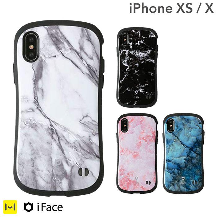 iphone x ケース iface First Class Marble 【 アイフォンxケース 大理石 アイフォンX iPhoneX ケース 耐衝撃 アイフェイス ハードケース マーブル スマホケース iPhoneケース 】