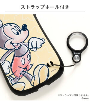[iPhoneXS/X専用]ディズニーキャラクターiFaceFirstClassケース(水彩)