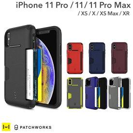 iPhone11 11pro 11promax iPhoneXS ケース iPhoneX iPhoneXS Max iPhoneXR PATCHWORKS パッチワークス LEVEL WALLET ケース【 シンプル 衝撃吸収 スマホケース アイフォン11 プロ アイフォンxr おしゃれ ブランド 耐衝撃 iphoneケース 背面 カード 定期 背面収納 icカード 】