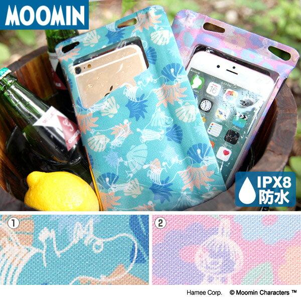 送料無料 ムーミン スマホ 防水ケース DIVAID Lite 5.5インチまで対応 ipx8 【 iphone iphone7 アイフォン 防水スマートフォンケース スマートフォン xperia 完全防水 ポーチ ミイ 】