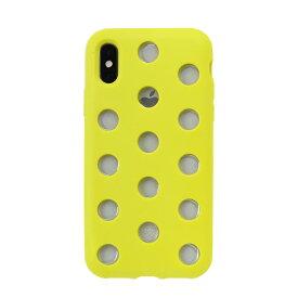 iPhoneXS iPhoneX スマホケース AndMesh Layer Case レイヤーケース(ライムイエロー)【iphonexsケース アンドメッシュ ブランド 携帯ケース iphonexsカバー ハードケース カバー】