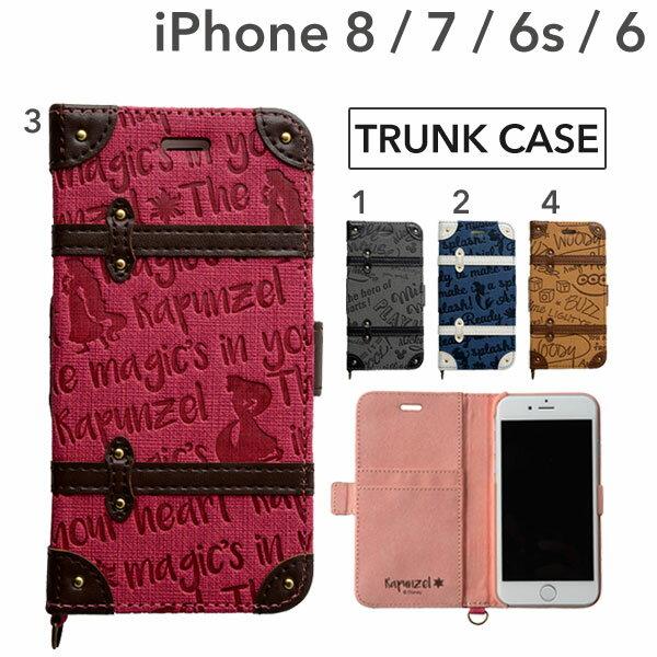 iphone8 ケース 手帳型 iphone7 iphone6s iphone6 ディズニー キャラクター トランク【 アイフォン8ケース スマホケース アイフォン6s アイフォン7 アイフォン8 手帳 iPhoneケース 】