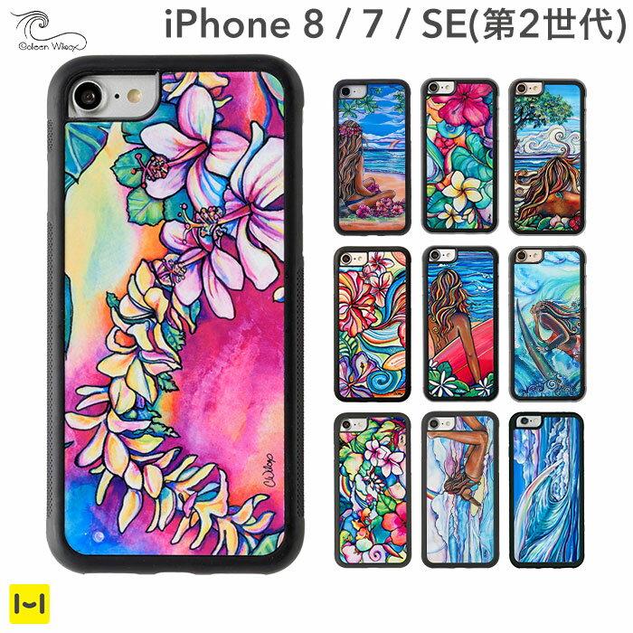 iPhone7 iPhone8 ケース Colleen Wilcox コリーンウィルコックス 【 スマホケース ハワイ ハワイアン アイフォン7 花柄 iPhoneケース 】