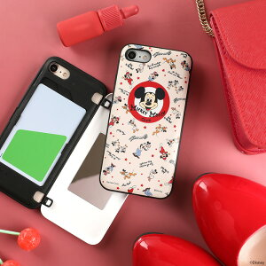 iphone11iphone11proiphonexrxsxiphone87ディズニーキャラクターLatootooカード収納ミラーiphoneケース【disneyライオンキングアリスミッキープーさんピグレット背面手帳型スマホケーススマホカバーかわいい鏡付きアイフォン11ハードケース鏡】