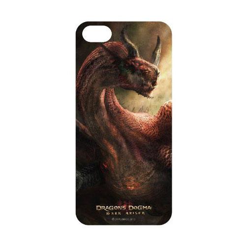 【iPhone5s対応】【メール便送料無料】グルマンディーズ iPhone5s iPhone5 用Dragon's Dogma : Dark Arisenドラゴンズドグマ ダークアリズンシェル ジャケット 謁見 DD-01Bドラゴン 竜 ハイファンタジー プレゼント ギフト 誕生日