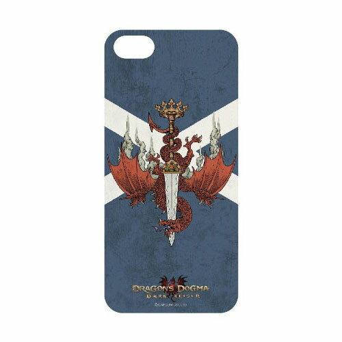 【iPhone5s対応】【メール便送料無料】グルマンディーズ iPhone5s iPhone5 用Dragon's Dogma : Dark Arisenドラゴンズドグマ ダークアリズンシェル ジャケット 王都紋章 DD-01Cドラゴン ハイファンタジー プレゼント ギフト 誕生日