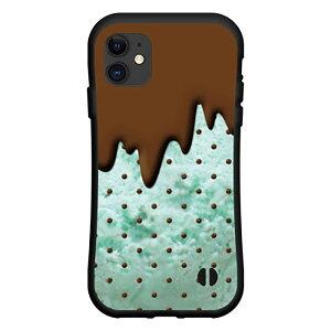 iPhone 12 Pro Maxアイフォン トゥエルブ プロ マックスdocomo au SoftBank落としても割れにくい驚きの衝撃吸収力豊富なオリジナルデザイン耐衝撃 ハイブリッドケースチョコミント