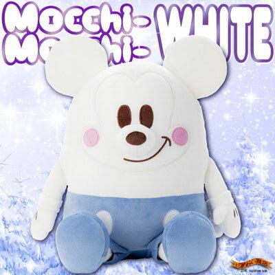 冬の特別バージョン★ ディズニー Mocchi-Mocchi- ( もっちぃもっちぃ ) ぬいぐるみ M ミッキーマウス ホワイト