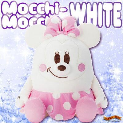 ディズニー Mocchi-Mocchi- ( もっちぃもっちぃ ) ぬいぐるみ M ミニーマウス ホワイト