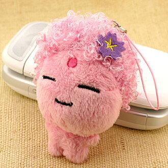 有甚至大佛想打扮的★arigata~烫发大佛吊带(粉红)