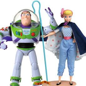 【お得なセット】ディズニー トイ・ストーリー4 リアルサイズトーキングフィギュア バズ・ライトイヤー / ボー・ピープ セット ( トイストーリー4 / Disney Pixer Toy Story4 )