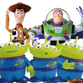 【スーパーお得なセット】ディズニー トイ・ストーリー4 リアルサイズトーキングフィギュア バズ・ライトイヤー / ウッディ/ エイリアン ( トイストーリー4 / Disney Pixer Toy Story4 )