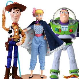 【スーパーお得なセット】ディズニー トイ・ストーリー4 リアルサイズトーキングフィギュア バズ・ライトイヤー / ウッディ/ ボー・ピープ ( トイストーリー4 / Disney Pixer Toy Story4 )