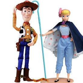【お得なセット】ディズニー トイ・ストーリー4 リアルサイズトーキングフィギュア ウッディ / ボー・ピープ セット ( トイストーリー4 / Disney Pixer Toy Story4 )