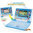 ディズニー&ディズニー/ピクサーキャラクターズ パソコンとタブレットの2WAYで遊べる!ワンダフルドリームタッチパソ…