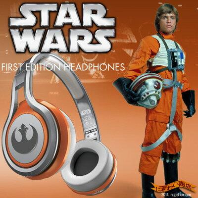 スターウォーズ STARWARS STREET by 50cent ワイヤードオンイヤーヘッドフォン / レベル・アライアンス Luke Skywalker ( ルークスカイウォーカー ヘッドホン )starwars