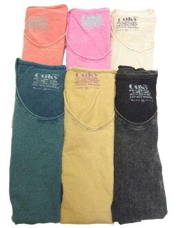 OUKY vintage wash plain T shirt size M