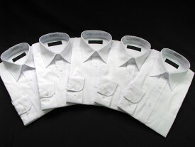 白ワイシャツ長袖5枚組