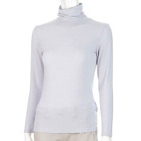 モダール とろーり極上インナー タートルネック長袖Tシャツ M・L 256-140
