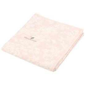 ウェッジウッド 綿毛布 ワイルドストロベリー シルエット シングル 西川産業 856-545