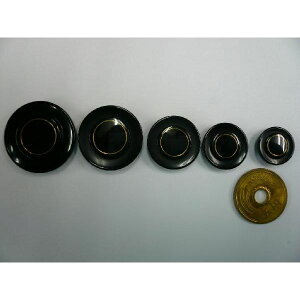 ボタン 13042 黒 24mm