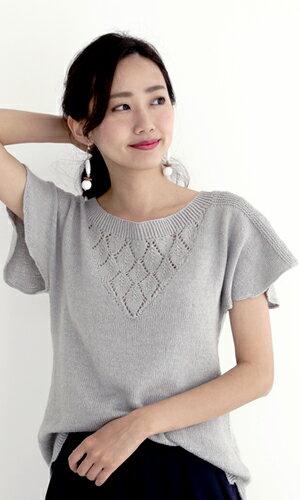 作品♪2167aw-17ざっくりセーター