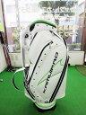 カムイ(KAMUI) Caddie Bag 9.5インチキャディーバッグ【KCB-550】【ホワイトxライム】