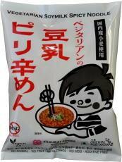 【桜井食品】ベジタリアンの豆乳ピリ辛めん 138g