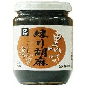 2010657-ms 練り胡麻・黒 240g【ムソー】