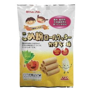 4162174-sk 【取り寄せ商品】米粉ロールクッキーかぼちゃ味 10個×6個セット【太田油脂】