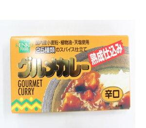 グルメカレールウ 辛口  120g【健康フーズ】