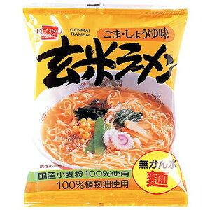 1002006-kf 玄米ラーメン ごま・しょうゆ味 100g【健康フーズ】