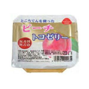 トコゼリー(ピーチ)130g【マルヤス食品】