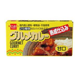 【健康フーズ】グルメカレールウ 甘口  120g