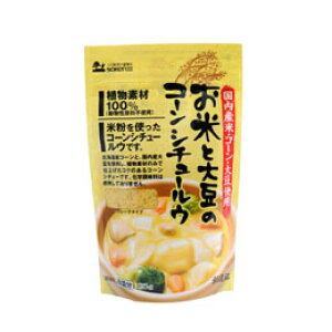 4110745-sk お米と大豆のコーンシチュールウ 135g【創健社】【1〜2個はメール便対応可】