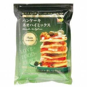 【1個はメール便対応可】【創健社】パンケーキ ネオハイミックス 砂糖不使用(プレーン) 400g