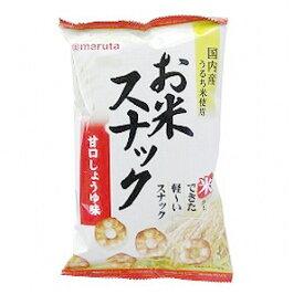 【太田油脂】お米スナック 甘口しょうゆ味 60g×6個セット