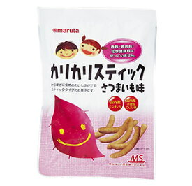 【太田油脂】MS カリカリスティック さつまいも味 60g×6個セット
