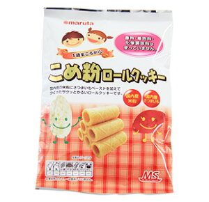 4162168-sk MSこめ粉ロールクッキー 10個×6個セット【太田油脂】