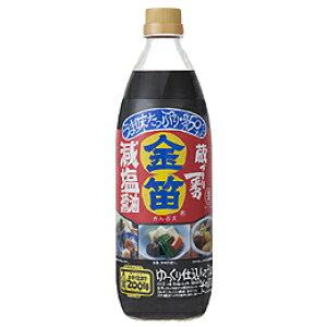 金笛 減塩醤油1リットル【笛木醤油】
