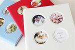 結婚アルバム台紙(ブライダルアルバム手作りキット台紙)Love−白【ラブ】写真45枚タイプ中台紙付き送料無料60%OFF