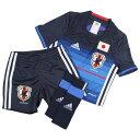 アディダス サッカー日本代表 2016 ホーム ミニキット 【adidas|アディダス】サッカー日本代表ジュニアレプリカウェアーaan04-aa0303