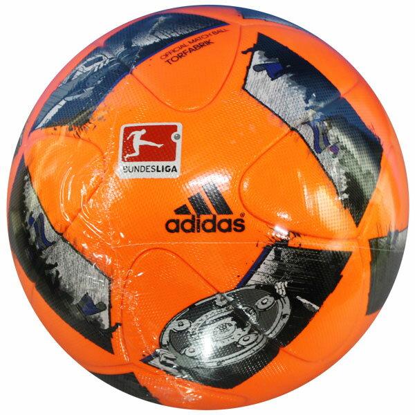 ドイツ ブンデスリーガ 16-17 試合球 レッド 【adidas|アディダス】サッカーボール5号球af5510dflr