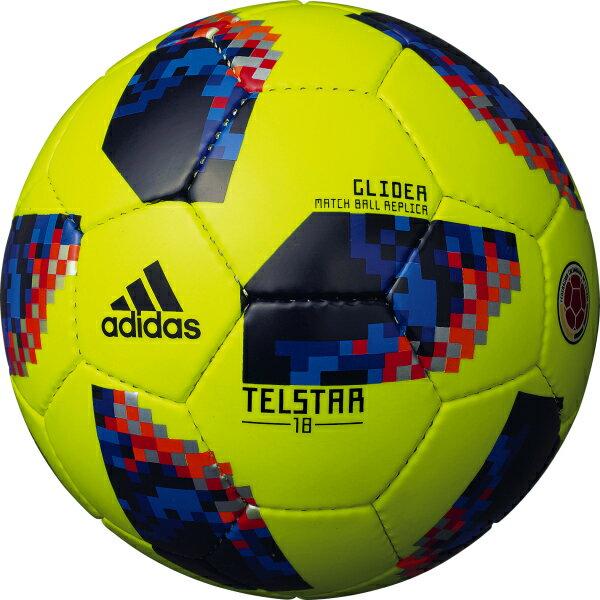 テルスター 18 試合球レプリカ グライダー コロンビア 【adidas|アディダス】サッカーボール4号球af4305cl