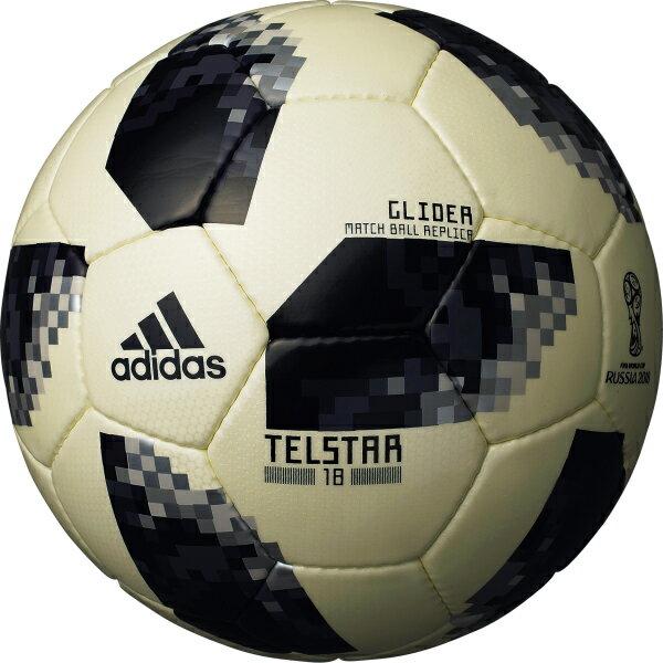 テルスター 18 試合球レプリカ グライダー ゴールド 【adidas アディダス】サッカーボール5号球af5304glbk