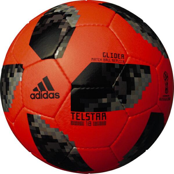 テルスター 18 試合球レプリカ グライダー レッド 【adidas アディダス】サッカーボール5号球af5304rbk