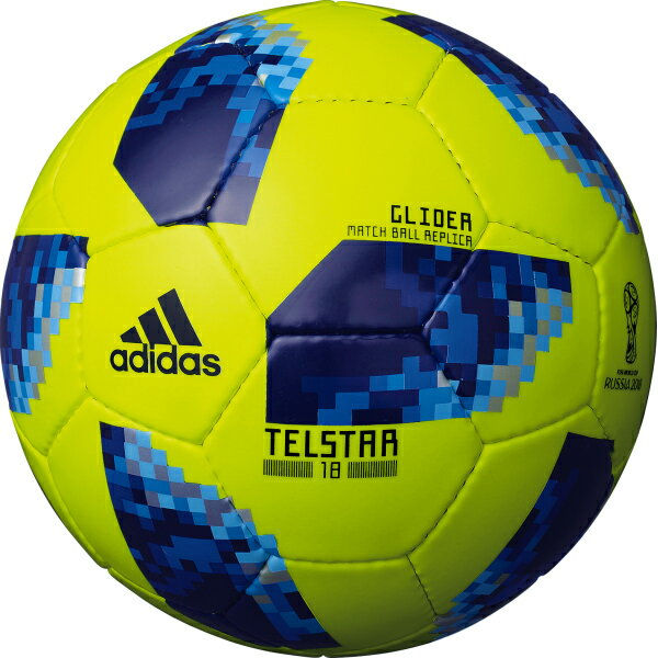 テルスター 18 試合球レプリカ グライダー イエロー 【adidas アディダス】サッカーボール5号球af5304yb